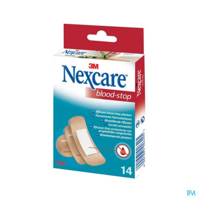 N1714as Nexcare Bloed Stop Strips 3 Maten Assortiment
