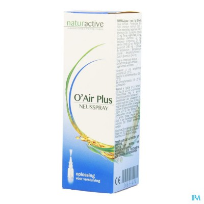 O'air Plus Naturactive Neusspray 20ml