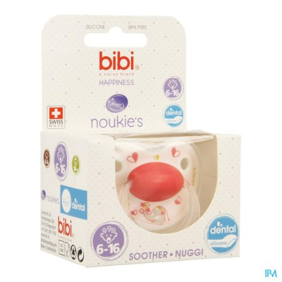 Bibi Fopspeen Hp Dental Noukie Anna&pili 6-16m