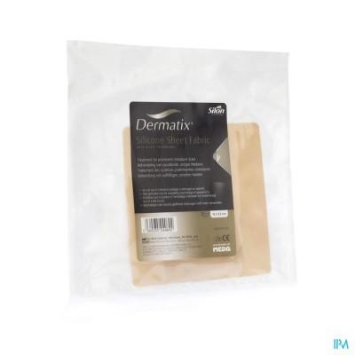 Dermatix Silicone Sheet Fabric Adh 13x13cm 1