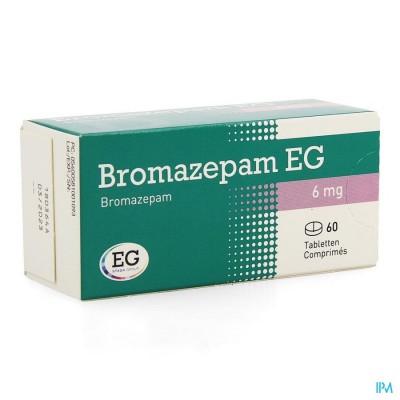 Bromazepam Eg Comp. 60 X 6mg