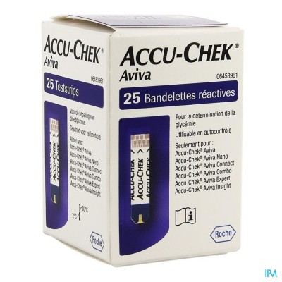 Accu Chek Aviva Teststroken 25 6453961016