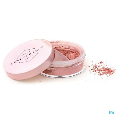 Cent Pur Cent Losse Minerale Blush Rose 7g