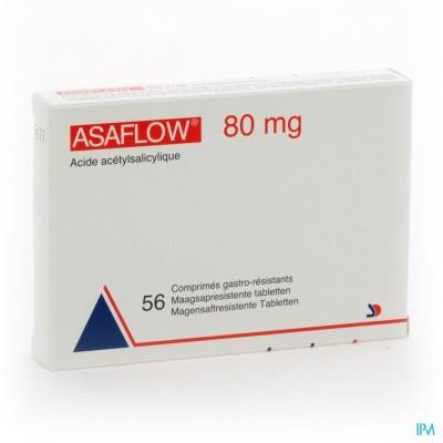 Asaflow 80mg Maagsapres Comp Bli 56x 80mg
