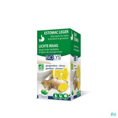 Biolys Gember - Citroen Tea-bags 20