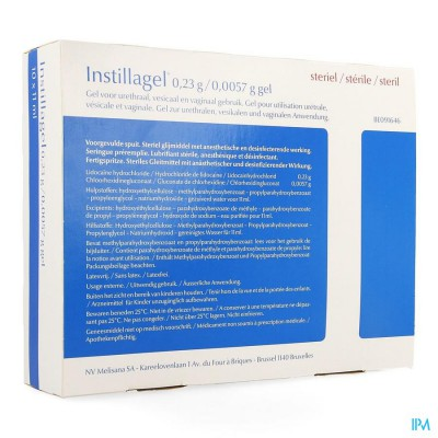 Instillagel Melisana 10 X 11ml