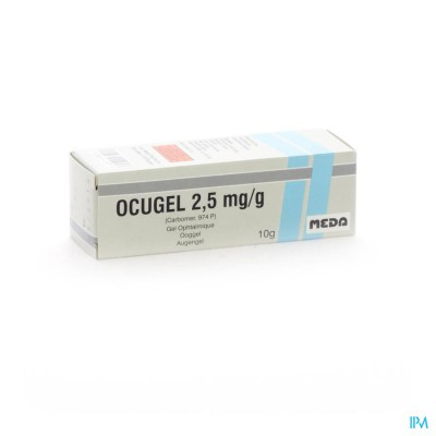 Ocugel 0,25% Fl 10ml