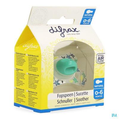 Difrax Fopspeen Natural 0-6 M
