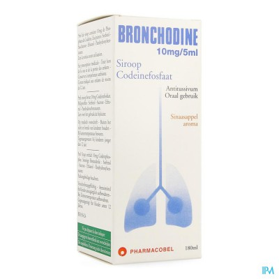 Bronchodine Sir. 180ml
