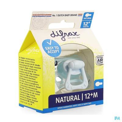 Difrax Fopspeen Natural 12+ M Boy