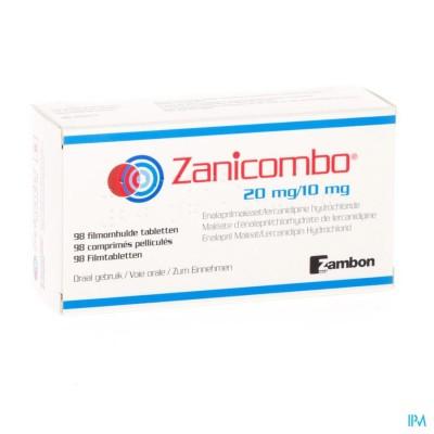 Zanicombo 20mg/10mg Filmomh Tabl 98
