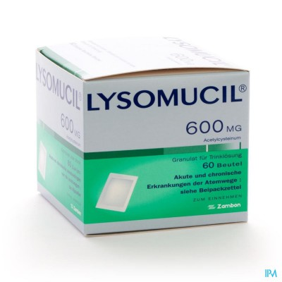 Lysomucil 600 Gran Sach 60 X 600mg