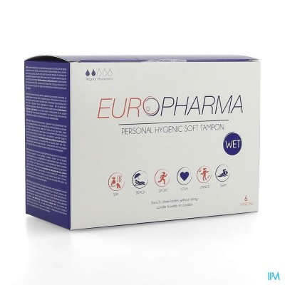 Europharma Tampon Glijmiddel 6