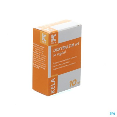 Doxybactin Vet 10mg/ml Gout Oral Susp 10ml