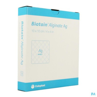 Biatain Alginate Ag Ster 10cmx10cm 10 3760
