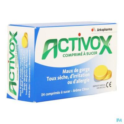 Activox Keelpijn Zuigtabletten 24