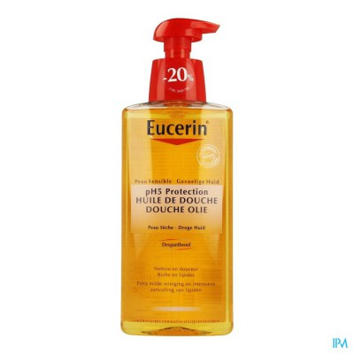 Eucerin Ph5 Douche Olie Met Pomp 400ml