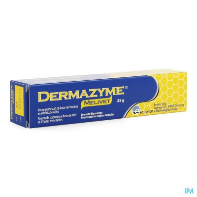 Dermazyme Melivet Zalf Tube 25g