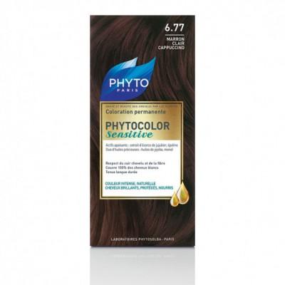 Phytocolor Sensitive 6.77 Lichtbruin Cappuccino