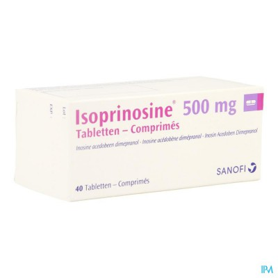 Isoprinosine Comp 40 X 500mg