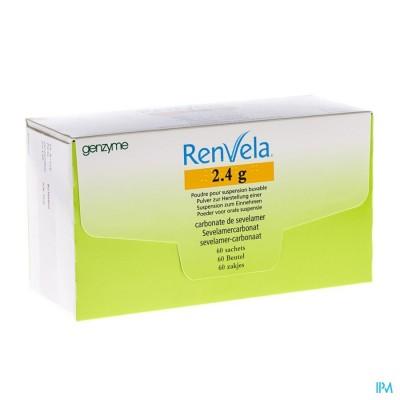 Renvela 2,4g Poeder Orale Susp Zakjes 60 X 2,4g