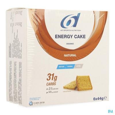 6d Sixd Energy Cake 6x44g