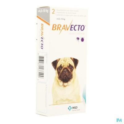 Bravecto Kauwtabletten Hond 2x 250,0mg