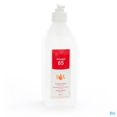 Dax Alcogel + Pompje 600ml 0496
