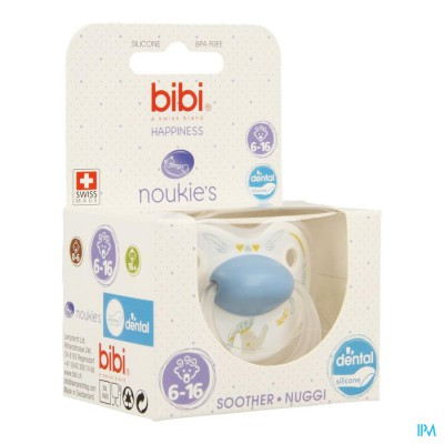 Bibi Fopspeen Hp Dental Noukie Bao&wapi 6-16m