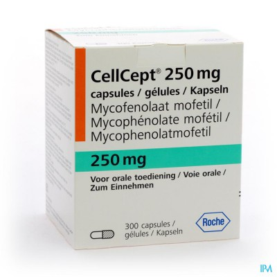 Cellcept Caps 300x250mg