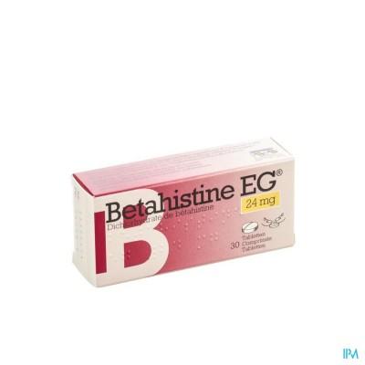 Betahistine Eg Comp 30 X 24mg