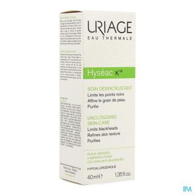 Uriage Hyseac K18 Tube 40ml