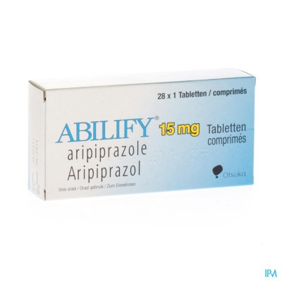 Abilify 15mg Comp 28 X 15mg