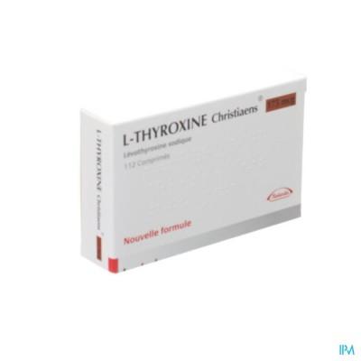 l Thyroxine Christiaens Comp 112x0,175mg