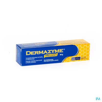 Dermazyme Melivet Zalf Tube 60g