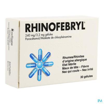 Rhinofebryl Caps 30