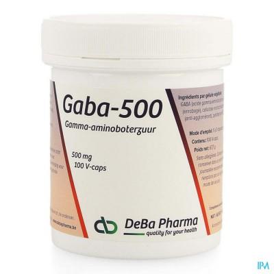 Gaba 500 Caps 100 Deba