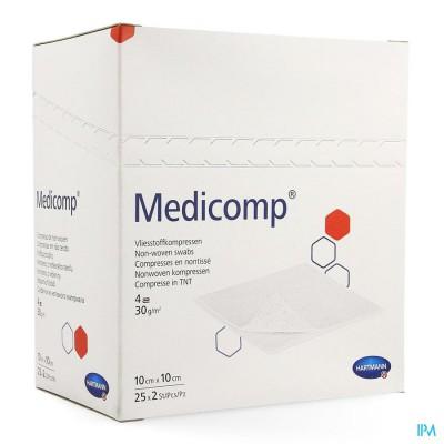 Medicomp Kp Ster 4pl 10x 10cm 25x2 4217257