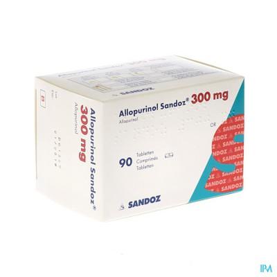 Allopurinol Sandoz 300mg Tabl 90