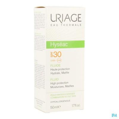 Uriage Hyseac Fluide Sol Ip30 Gem H-vh Tube 50ml