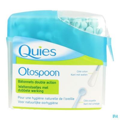 Quies Otospoon Wattestaafjes Dubbele Werking 100