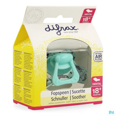 Difrax Fopspeen Sil Dental Xtr Sterk +18m 342