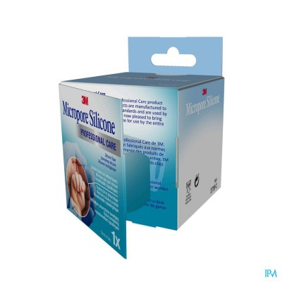 Micropore 3m Silicone Tape 50,0mmx5m 1 2775p-2