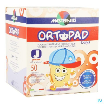 Ortopad Junior For Boys Oogpleister 50 73321