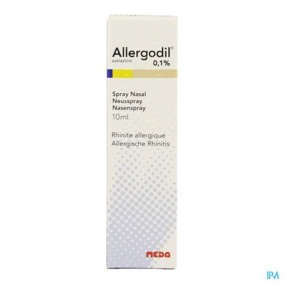 Allergodil Spray Nasal Fl 10ml