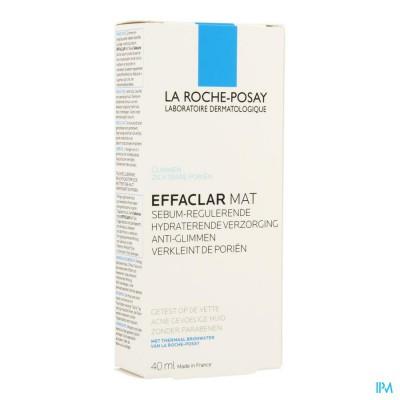 La Roche Posay Effaclar Mat Hydra Sebo-regulat. S/parab. 40ml
