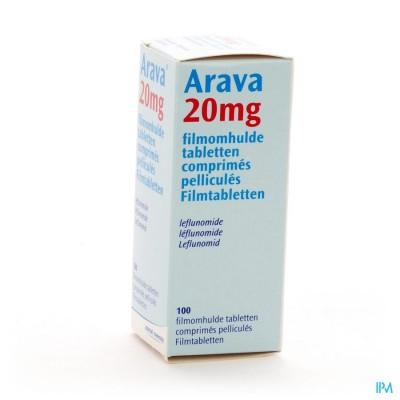 Arava 20mg Filmomh Tabl 100 X 20mg