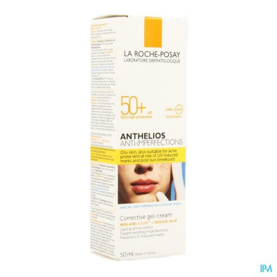 Lrp Anthelios A/imperfections Corrig. Gel-cr 50ml