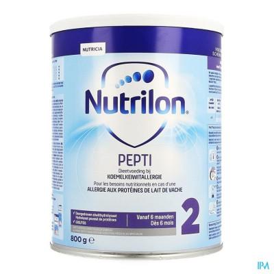 Nutrilon Pepti 2 Nf Zuigelingenmelk Pdr Blik 800g