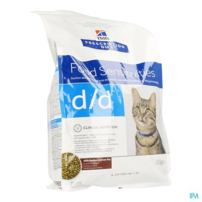 Hills Prescrip.diet Feline Dd Vension 1,5kg 8686m